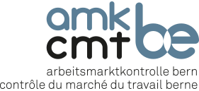 Verein Arbeitsmarktkontrolle Bern AMKBE Logo