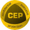 Confidential executive protection Logo