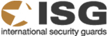 ISG International Security Guards Logo