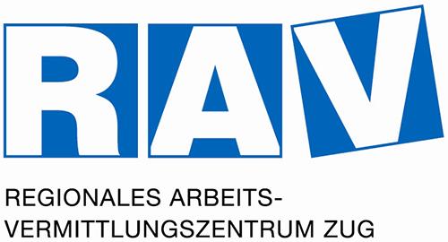 RAV Regionales Arbeitsvermittlungszentrum Zug Logo