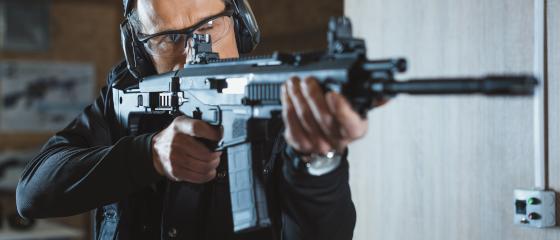 Schiessen Langwaffen Privatunterricht Gewehr Sicherheitsdienst Security