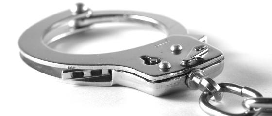 Handfesseln Sicherheitsdienst Security
